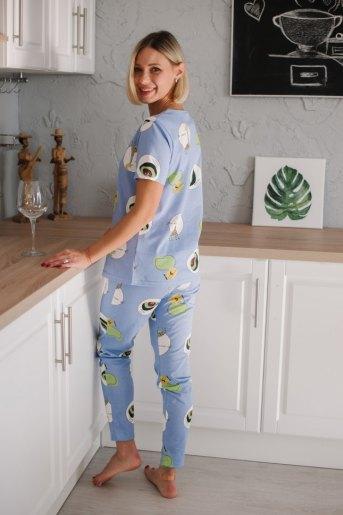 Женская пижама ЖП 071 (T) (Жирафы) (Фото 2)