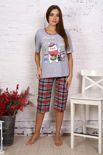 Пижама 35559 (N) (Меланж) - Злата