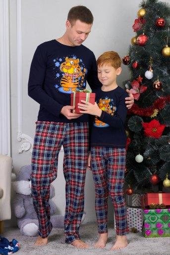 Пижама 10870 детская (N) (Синий) (Фото 2)