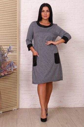 Платье 47012 (N) (Серый) - Злата