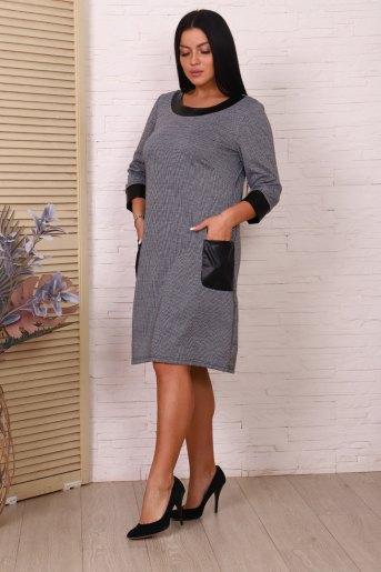 Платье 47012 (N) (Серый) (Фото 2)