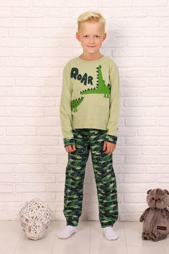 Пижама Тотоша детская дл.рукав (N) (Светло-зеленый) - Злата