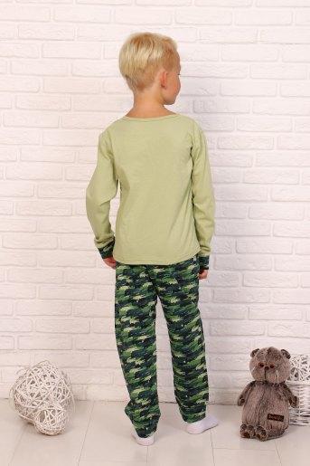 Пижама Тотоша детская дл.рукав (N) (Светло-зеленый) (Фото 2)
