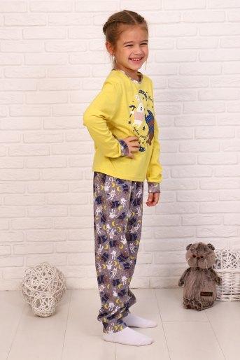 Пижама Сумерки дл. рукав (N) (Желтый) (Фото 2)