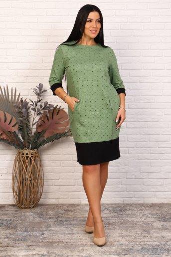 Платье 35067 (N) (Мятный) - Злата