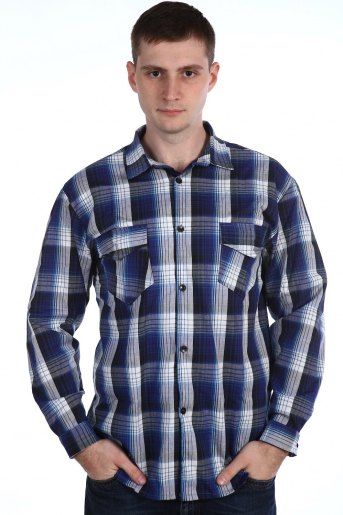 Рубашка 51501 (N) (Ассорти) - Злата