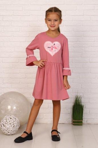 Платье Изабелла детское (N) (Лиловый) - Злата