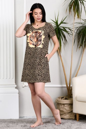 Туника 24844 (N) (Леопард) - Злата