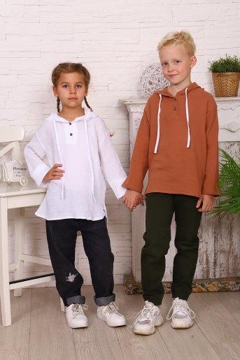 Рубашка 16096 детская (N) (Фото 2)