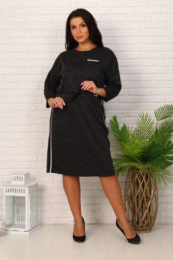 Платье 2627 (N) (Черный) - Злата