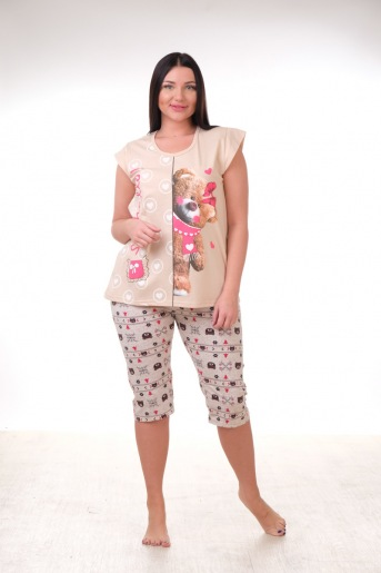 Пижама Топтыжка бриджи - Злата