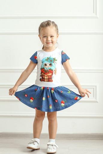 Платье Моя ягодка (Ю) - Злата