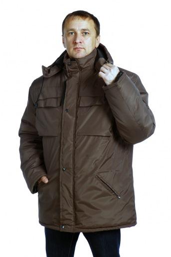 Куртка Штиль (дюспа коричневый) (В) - Злата
