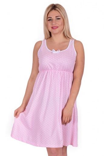 Женская сорочка ЖС 015 (T) (Горох на розовом) - Злата