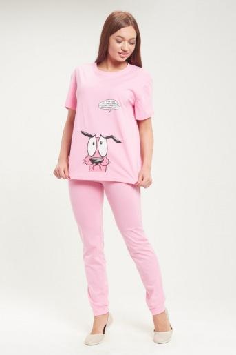 Пижама женская ЖП 030 (T) (Розовый) - Злата