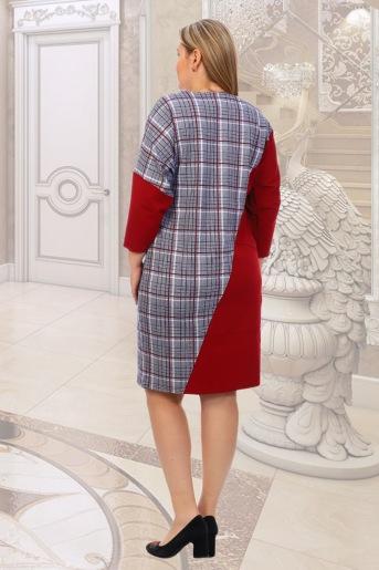 Платье Санторини (N) (Бордо) (Фото 2)