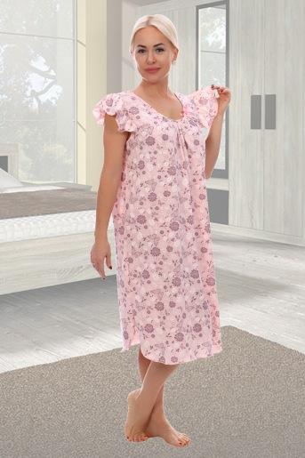 Сорочка Радуга (N) (Розовый) - Злата