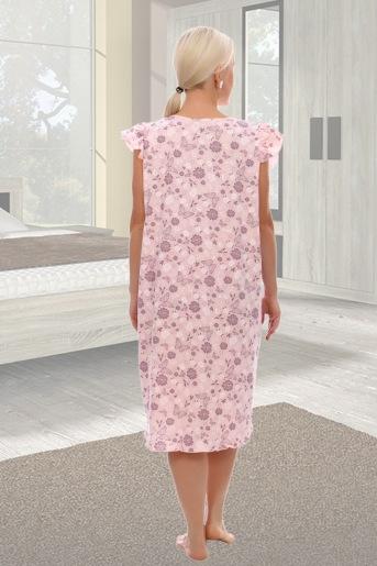 Сорочка Радуга (N) (Розовый) (Фото 2)