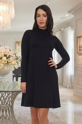 Платье 10456 (N) (Черный) - Злата