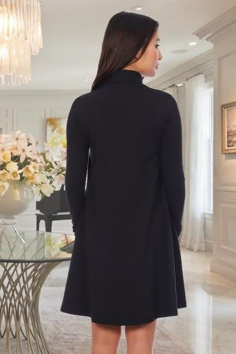 Платье 10456 (N) (Черный) (Фото 2)