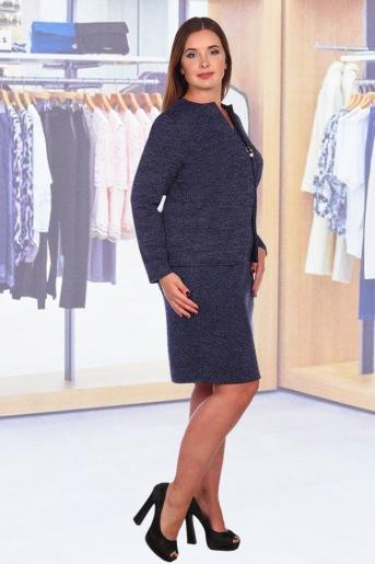 Платье Аэлита (N) (Темно-синий) (Фото 2)