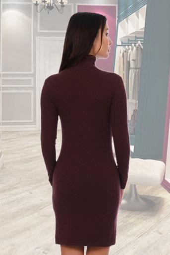 Платье 3341 (N) (Бордовый) (Фото 2)