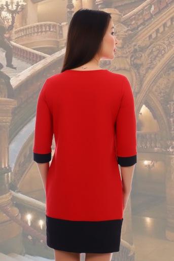 Платье 10459 (N) (Красный) (Фото 2)