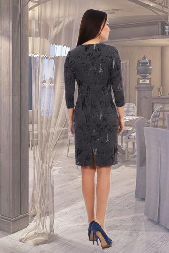 Платье Авиталь (N) (Серый) (Фото 2)