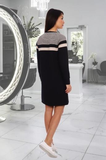 Платье Даяна (N) (Черный) (Фото 2)