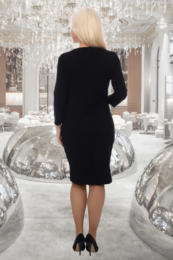 Платье Мгновение (N) (Черный) (Фото 2)