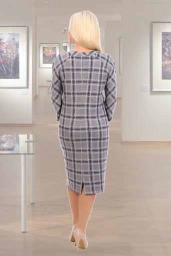 Платье Эллипс (N) (Серый) (Фото 2)