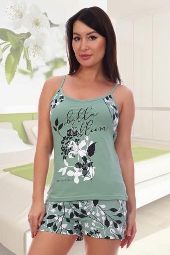 Пижама 5548 (N) (Зеленый) - Злата
