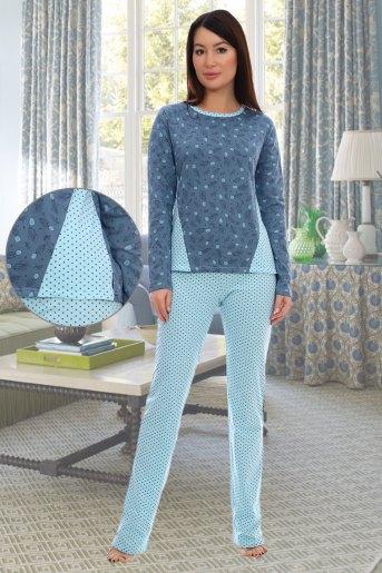Пижама 2825 (N) (Голубой) - Злата
