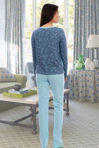 Пижама 2825 (N) (Голубой) (Фото 2)