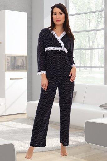 Пижама 10806 (N) (Черный) - Злата