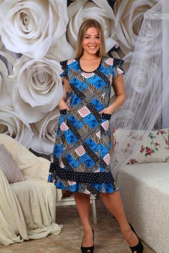 №61 Платье - расцветки в ассортименте - Злата