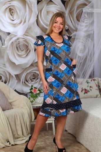 №61 Платье - расцветки в ассортименте (Фото 2)