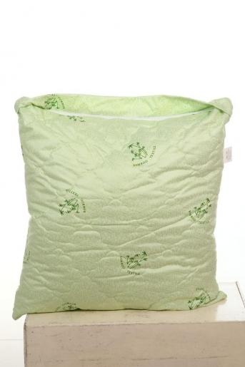 Подушка Бамбуковое волокно 60х60см (тик) - Злата