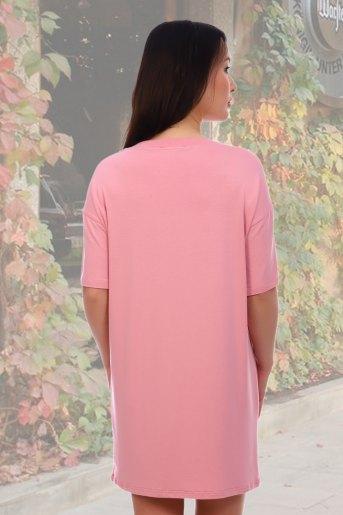 Туника 6136 (N) (Розовый) (Фото 2)