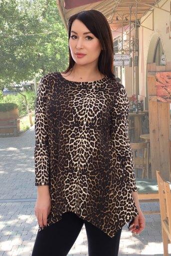 Блузка 10468 (N) (Леопард) - Злата