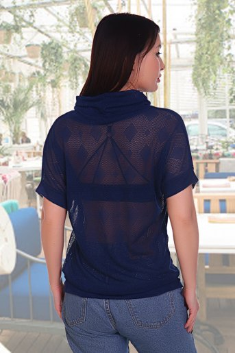 Блузка Бригантина (N) (Синий) (Фото 2)
