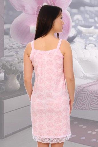 Сорочка Лейси (N) (Розовый) (Фото 2)