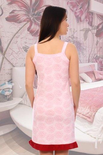 Сорочка Лакшери (N) (Розовый) (Фото 2)