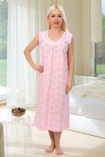 Сорочка Анфиса (N) (Розовый) - Злата
