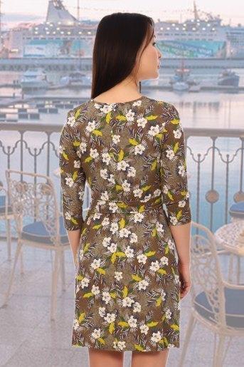 Платье 5577 (N) (Хаки) (Фото 2)
