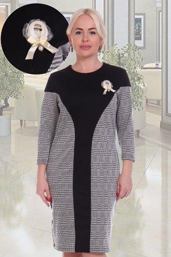 Платье Пикадилли (N) (Черный) - Злата