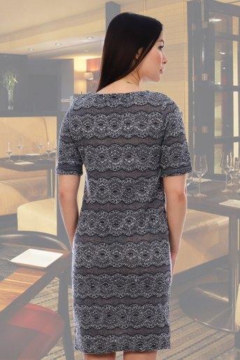 Платье 10323 (N) (Серый) (Фото 2)