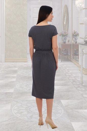 Платье 10469 (N) (Серый) (Фото 2)