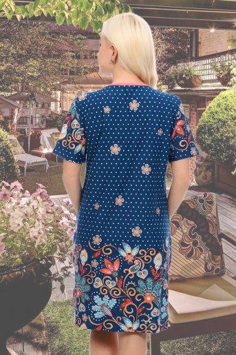 Платье 3963 (N) (Синий) (Фото 2)