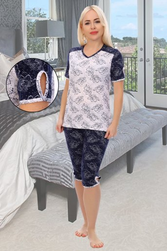 Пижама Фиеста (N) (Белый) - Злата